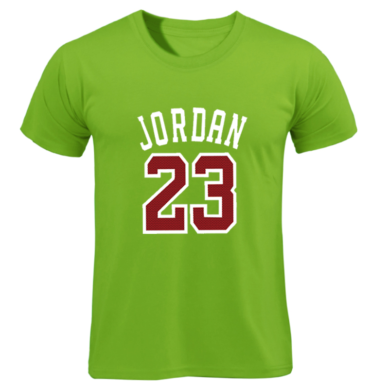2018 New Brand T-shirt Clothing Jordan 23 Print Men Swag Skate T-Shirt Cotton Print T Shirt Homme Fitness Camisetas Hip Hop Tees Футболка