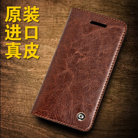 2016 For Iphone 5 5s Original QIALINO Brand Real Natural Calf Genuine Leather Case For Iphone5
