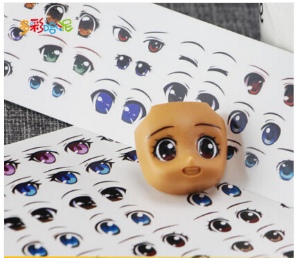 Clay Doll Diy Accessories Eyes Stickers Water Stickers Multistyle Figure Eyes Doll Accessories Anime Figurine Dolls Eye Paster