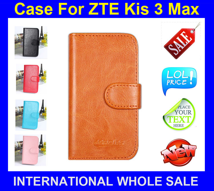 hot sales 46ec7 433df ZTE Kis 3 Max case Flip leather case Imported high grade materials ...