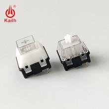 Kailh חדש גרסה שמש מתג diy משחקים מכאני מקלדת מתג RGB/SMD מרכז תאורה clicky יד תחושה 10pcs