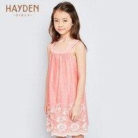 HAYDEN Girls Dresses Summer Stripped Sundress 7 9 11 Years Costumes Children Clothing Teenage Girls Clothes
