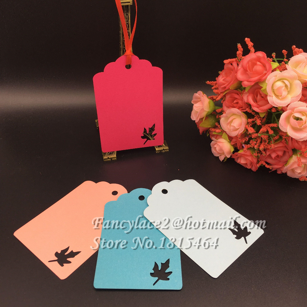 60pcs Wishing Tree Card Gifts Message Tags Customizable Label Card Wedding Party Decoration Supplies Free Shipping