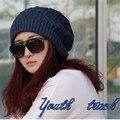 2017 Sombreros de Invierno Para Las Mujeres Caliente de Punto Gorros Sombrero Hecho A Mano Hembra de Alta Elástico Suave Tapas Tocados Tapa Tamaño Libre DP667700