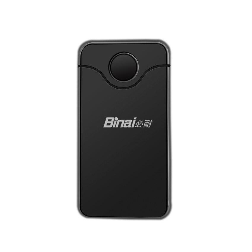 BINAI G18 HIFI BluetoothAudio Receiver AUX input output TX/TX Free Switch Bluetooth Adapter for MP3 MP4 Speaker Earphone TV