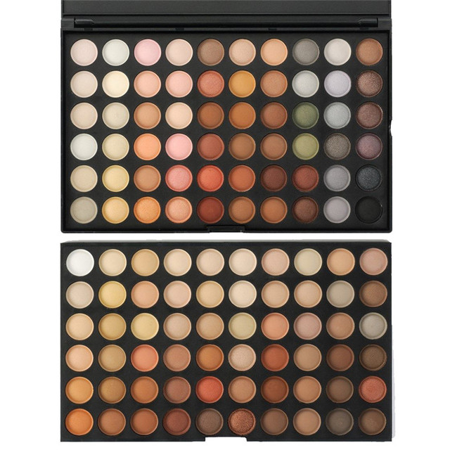 120 Full Color Neutral Warm Makeup Matte Powder Eye Shadow Set Long Lasting Beauty Cosmetic Make Up Eyeshadow Palette Kits