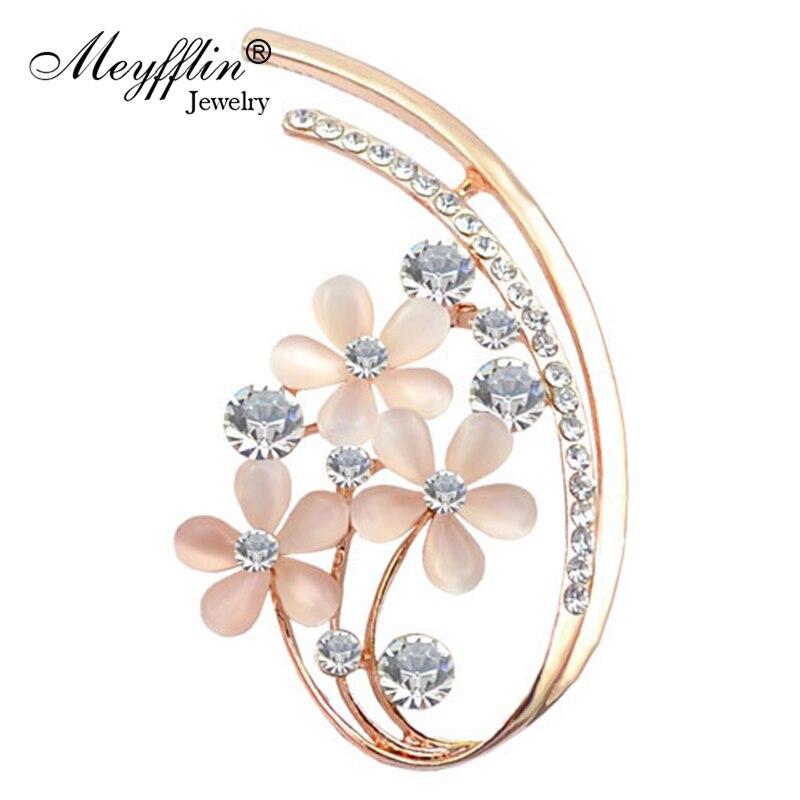 ᐃCristal broches para las mujeres collar accesorios moda joyería ...