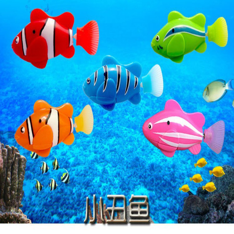 New Lovely Baby Fish Toys Water Spraying Squeeze Sounding Debbling Toys Kids Float Water Rubber Play Animals analog watch