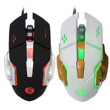 USB Powered Optical Gaming mouse Wired 3200dpi mice for DOTA2 World of tanks gamers LED mause