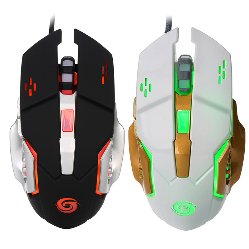 USB Powered Optical Gaming mouse Wired 3200dpi mice for DOTA2 font b World b font font