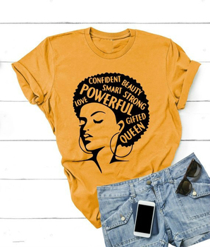 T-shirt Afro Powerful