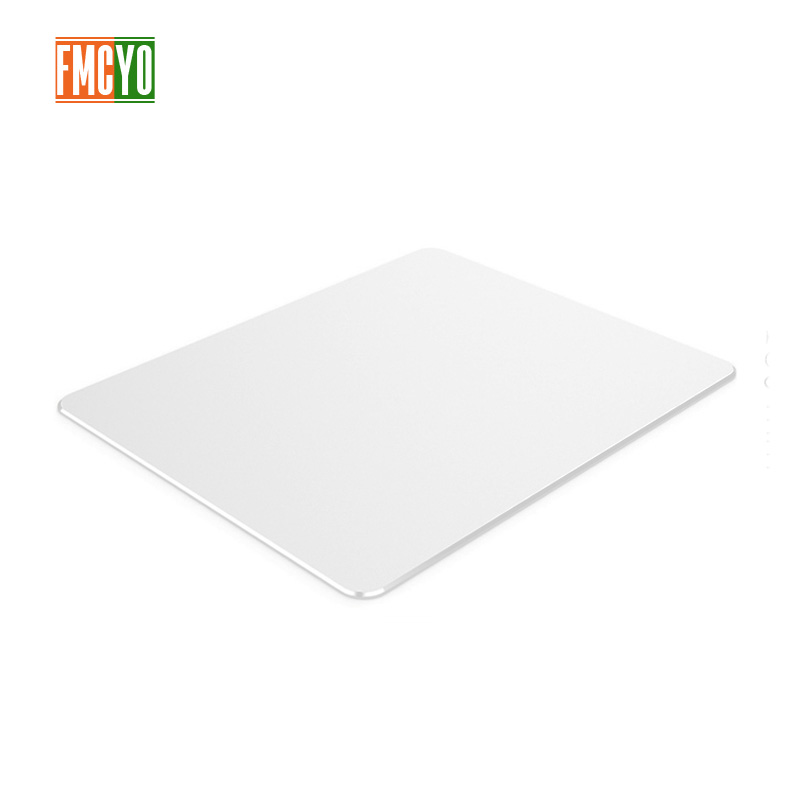 Aluminum mouse pad Apple notebook mouse pad office game home metal mouse pad small oversized-in Mouse Pads from Computer & Office