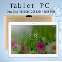 Russian Warehouse Shipped New10 Inch Android Tablet 6 0 Quad Core 2GB 32GB IPS LCD Marshmallow