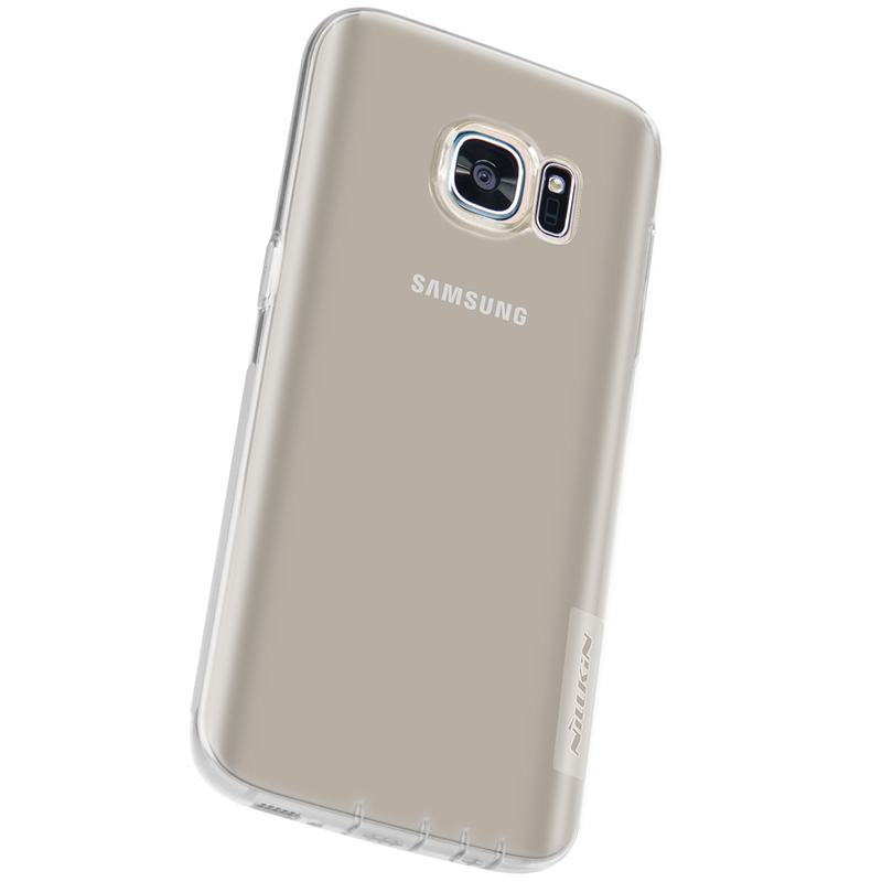 sports shoes b85df 5ad8a For Samsung Galaxy S7 case Nillkin Nature TPU Silicone Case Ultra Thin Back  Cover for Samsung S7 edge mobile Phone Cases