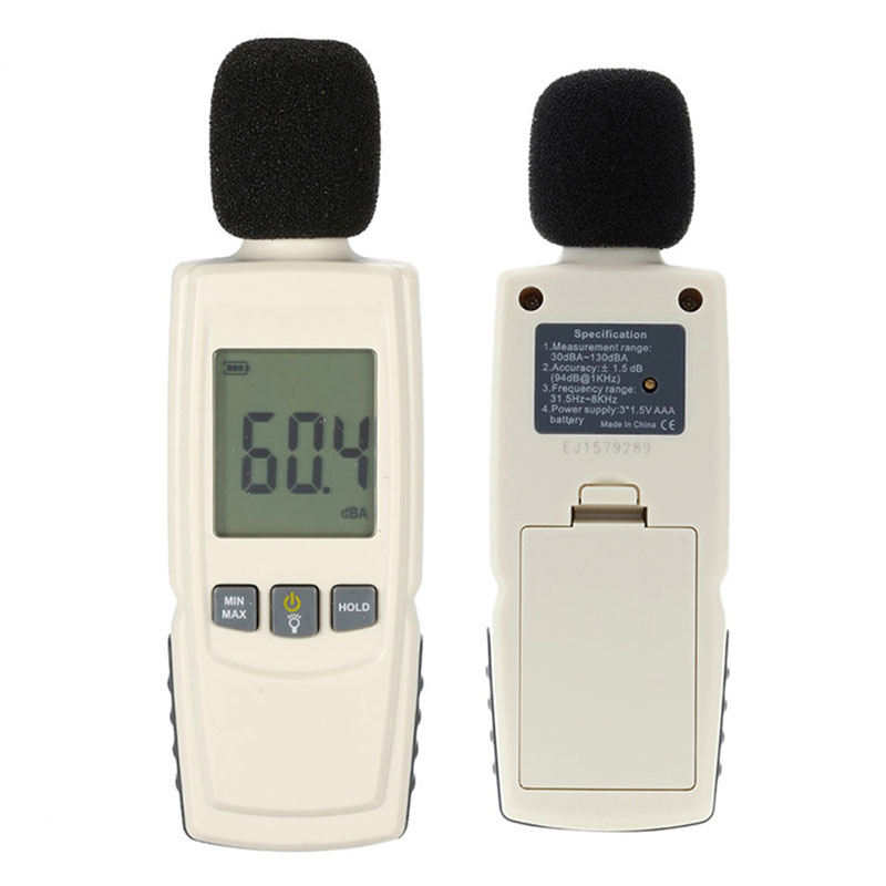 Mini Sound Level Meters Decibel Meter Noise Audio Detector Digital Diagnostic-Tool Noise Detector LCD Digital Sound Level Meter