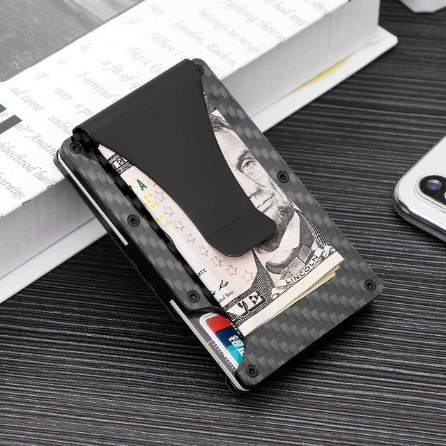 Houkiper Ridge Wallet Credit Card Holder Carbon Fiber