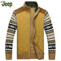 2016 Fall latest explosion models Afs Jeep / Battlefield Jeep thick sweater knit cardigan jacket M XL plus velvet jacket 160