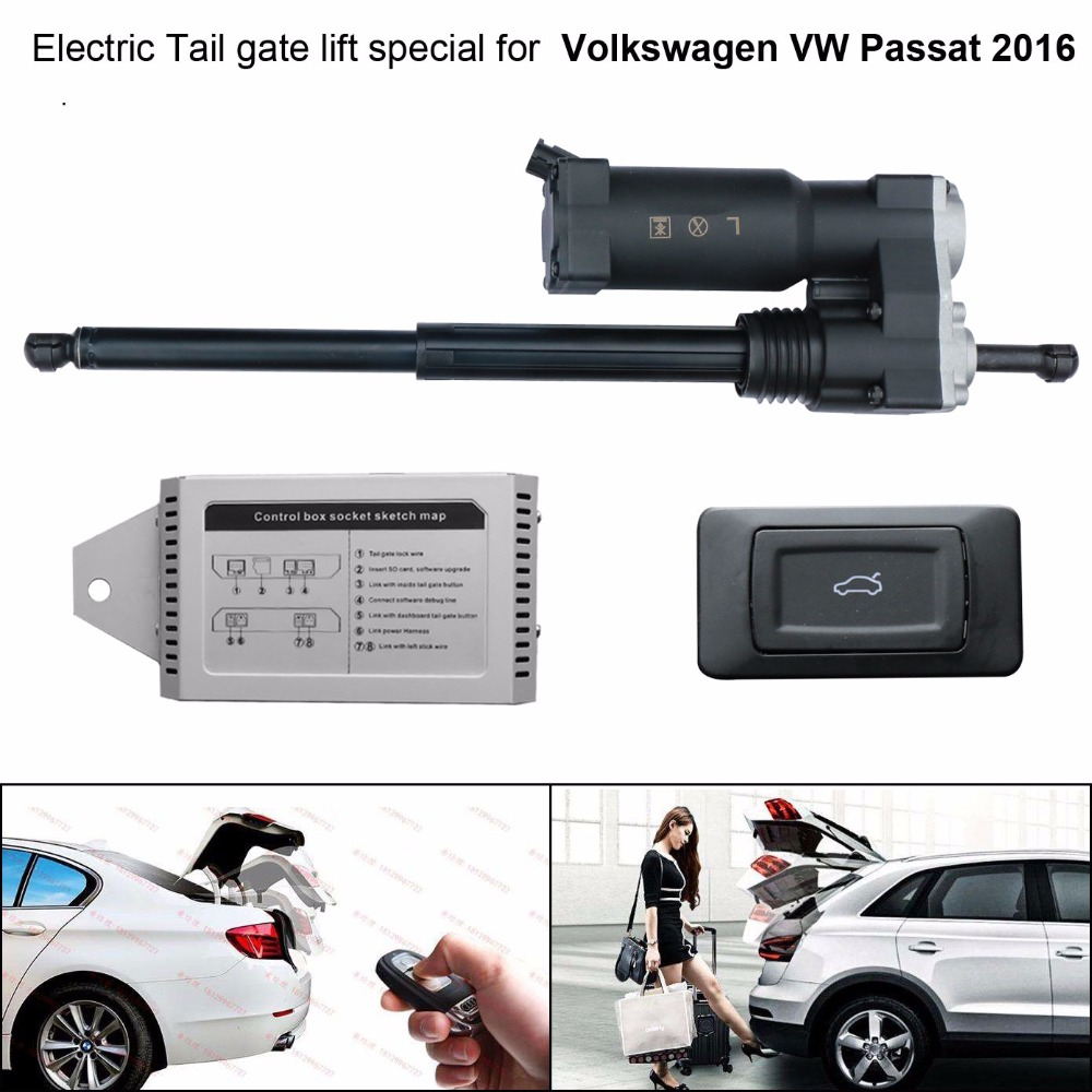 Car Electric Tail Gate Lift Special For Volkswagen VW Passat 2016 Easily For You To Control Trunk With Latch