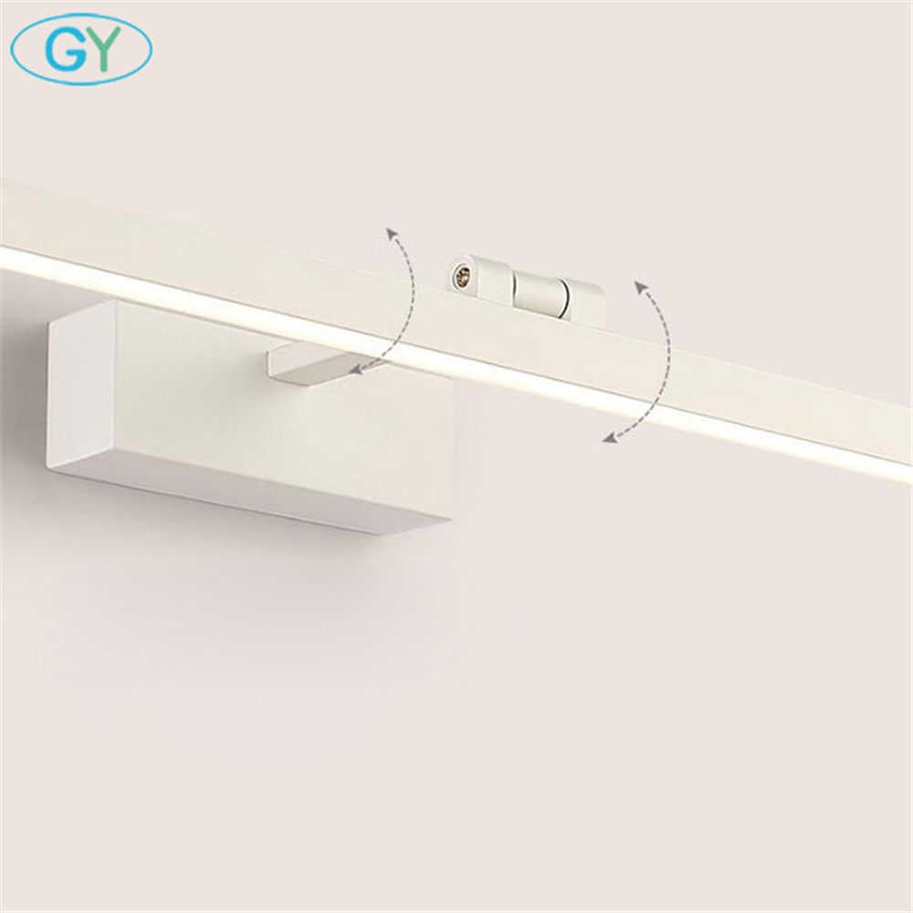 Image 5 - L40cm L60cm L70cm L90cm L110cm LED Wall Lamp Bathroom Mirror Light Waterproof Modern Acrylic Wall Lamp Bathroom Lights AC85 265VLED Indoor Wall Lamps   -