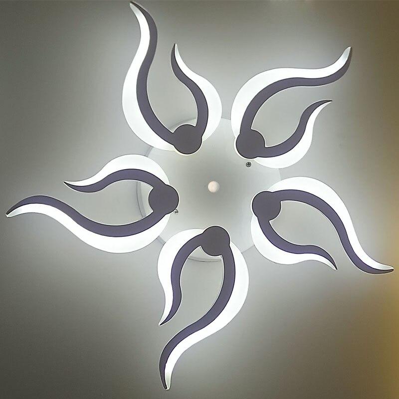 Acrylic Modern led ceiling lights for living room bedroom dining room home ceiling lamp lighting light fixtures