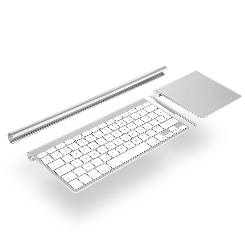 spnido newest cool bluetooth keyboard holder stand for apple wireless keyboard or apple magic. Black Bedroom Furniture Sets. Home Design Ideas