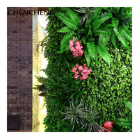 Green Artificial Flower Plant Decorative Wall Garden Lawn Carpet Cushions Living Room Hotel Home Wedding Decoration