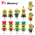 pen drive minions usb flash drive football player model usb stick 16g 8g flash stick 4g 2g thumb drive 2016 OEM usb 2.0