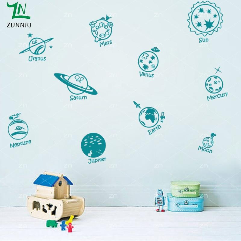 E423 Wall Stickers Басты декор DIY плакат Decal - Үйдің декоры - фото 3