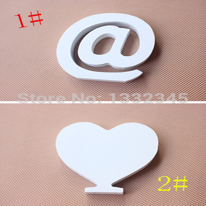 1pcs letters pure white minimalist modern English alphabet wooden ornaments home decor wedding shoot props