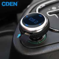 Car MP3 Bluetooth FM Transmitter Handsfree Bluetooth Car Kit Modulator Carkit Dual USB LED Display U disk For Iphone7 Samsung