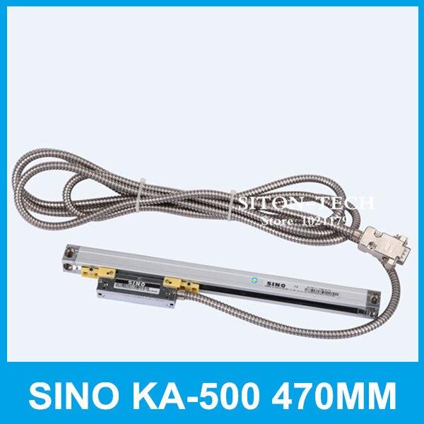 Trasporto libero misura KA500 KA-500 470mm 5 micron lineare SINO 0.005mm 470mm trasduttore lineare per foratrice fresatrice