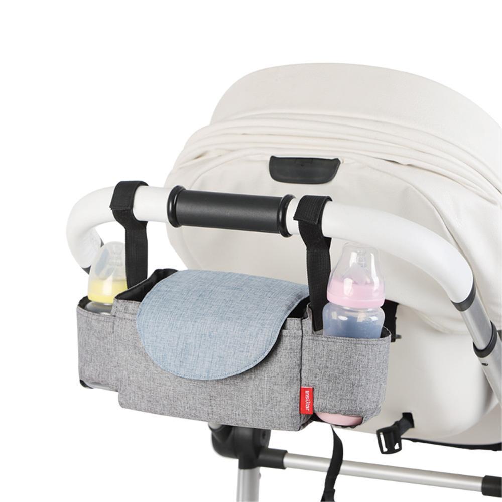 Universal Baby Stroller Organizer Mummy Diaper Bag Multifunction Mummy Bag Baby Carriage Pram Cup Holder Stroller Accessories