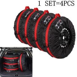 1 шт./4 шт. чехол для автомобильных запасных шин, полиэстеровый чехол для автомобильных колес, сумки для хранения автомобильных шин, аксессуа...