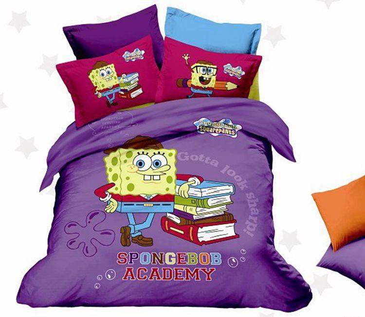 buy good quality bedding set 100 kids beddinghome queen beddingkids duvet sets from - Spongebob Bedroom Set