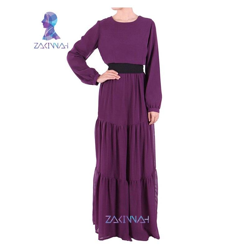 47382fc1c8339 10024 موضة جديدة الشيفون السيدات العباءة المسلمات الملابس زائد حجم الملابس  العربية مسلم اللباس التقليدي الشحن المجاني