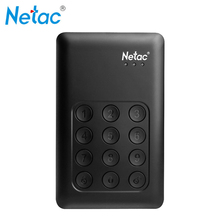 Original K390 USB3.0 External Hard Drive Disk 500GB 1TB 2TB Keypad Lock AES 256-bit Hardware Encryption HDD High-Speed