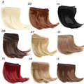 1pcs 10*100CM  Doll wigs/hair Big Bend hairstyle For  1/3 1/4 1/6 BJD /SD DIY Dolls Accessories