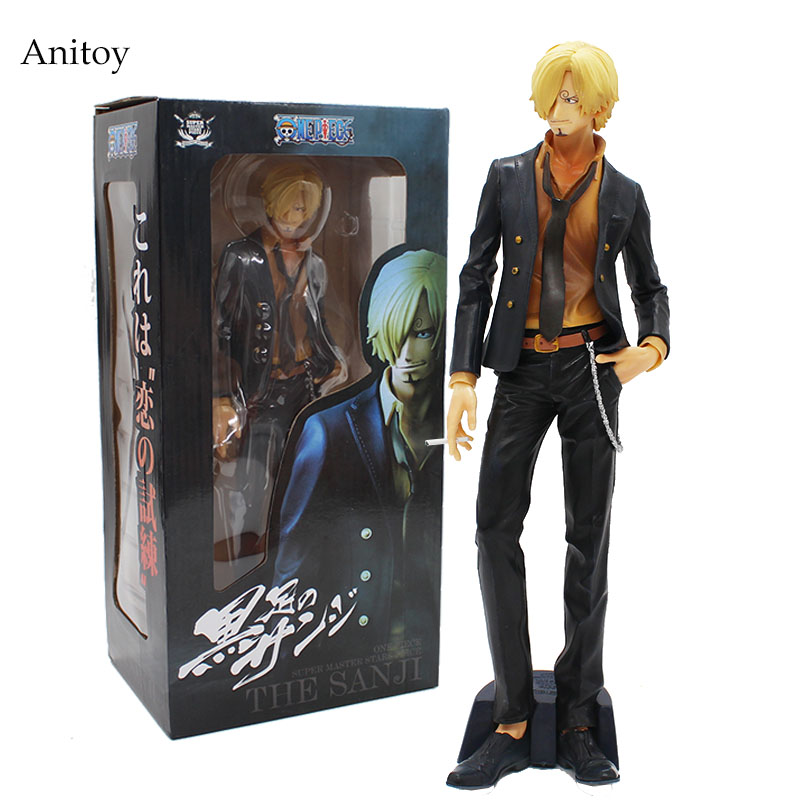 One Piece Super Master Stars Piece The Sanji PVC Figure Collectible Toy 30cm KT4076 crusade vol 3 the master of machines
