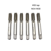 1PC HSS tap M14/M16/M18 machine straight fluted hand tools  Screw