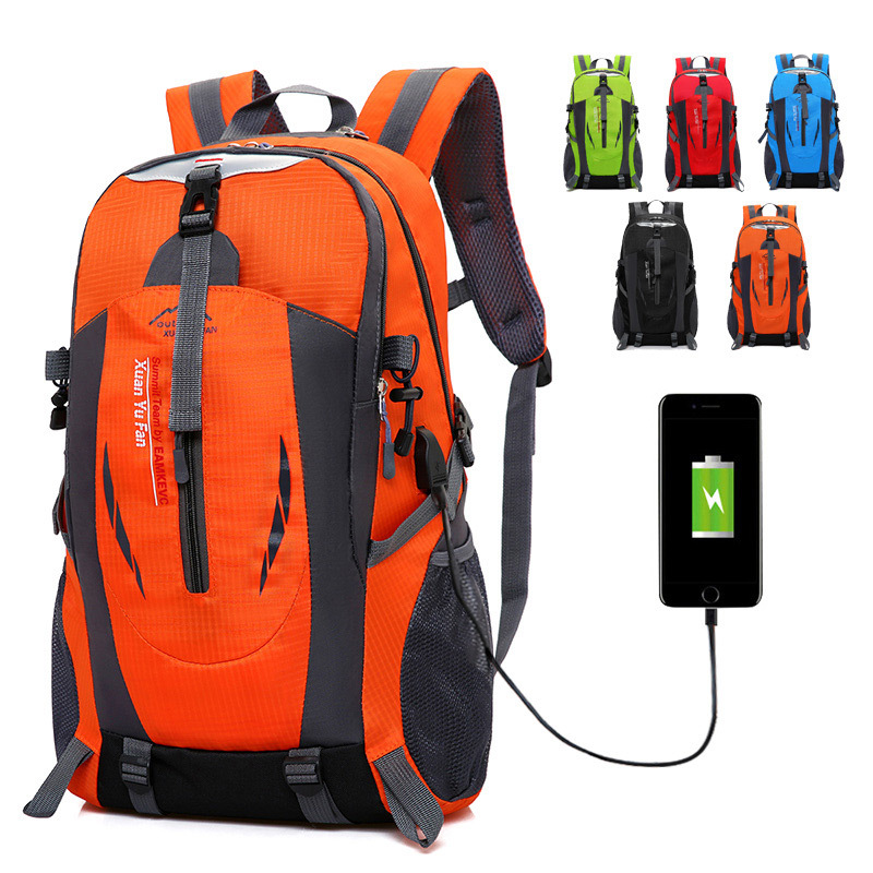 Fashion Multifunction Large Easy Usb Charging Backpack Travel Waterproof Men Men Casual Bag 15-inch Notebook Backpack