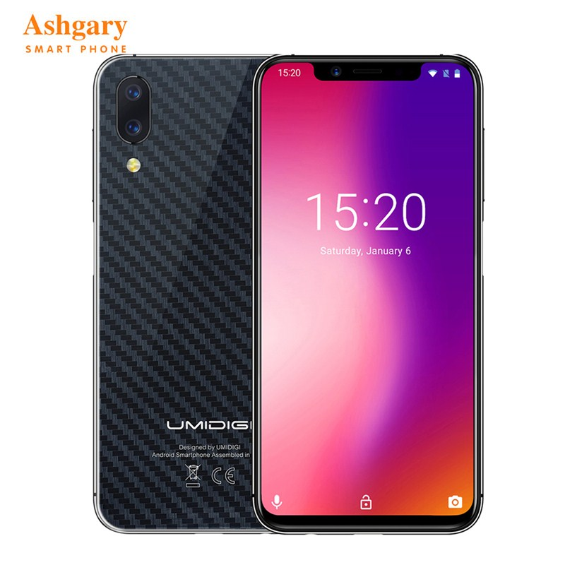 UMIDIGI One Pro 4G Smartphone 4GB RAM 64GB ROM 5.86 Inch Phablet Android 8.1 OS MTK6763 Octa Core 2.0GHz 3250mAh Mobile Phone smartphone