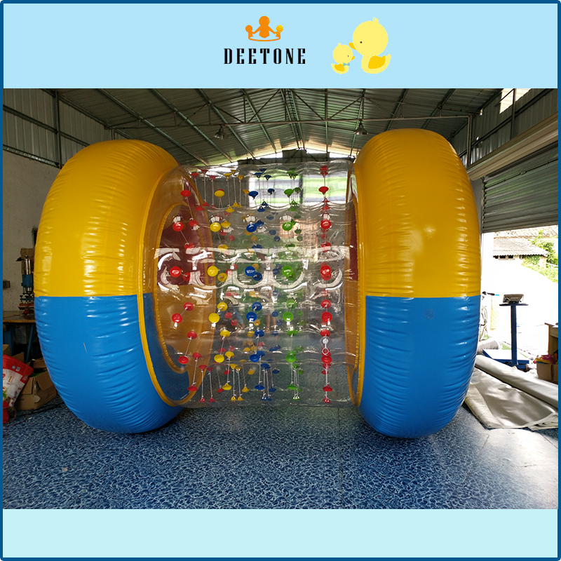 Home Appliance Parts Transparent Giant Cylinder Human Water Bubble Ball Pvc Floating Roller