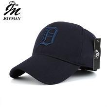 Joymay elastano elástico cabido chapéus protetor solar boné de beisebol masculino ou feminino casquette bone aba reta b435