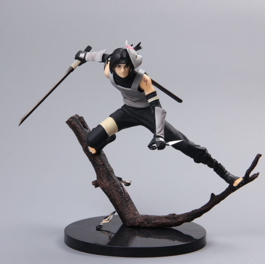 NARUTO Uchiha Itachi Akatsuki Shippuden Branches Prop Scene Figure Naruto Itachi Action Figure Mask Figure Model Gift for Adult naruto figure uchiha itachi action figure 270mm figura pvc naruto itachi collection model anime figurine naruto t