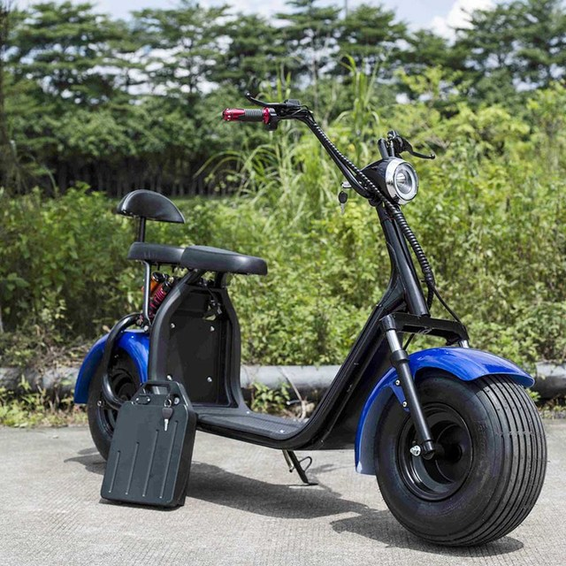 removable battery harley citycoco electric bike-in Self