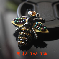 yellowbee rhinestones beaded patches for clothing stickers clothes sew on parches bordados para ropa toppe per vestiti