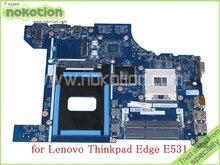 laptop motherboard for lenovo thinkpad E531 VILE2 NM-A044 REV 1.0 FRU 04Y1300 HM77 GMA HD4000 DDR3
