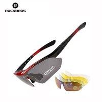 ROCKBROS Cycling Sunglasses Mountain Bike Bicycle Riding Protection Goggles Eyewear Sport Sunglasses Bike Glasses Sport Glasses