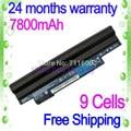 Jigu 6600 mah 9 celdas de batería portátil para acer aspire one d255 aod255e ak.006bt. 074 al10a31 al10g31 al10bw lc. btp00.128 al10b31