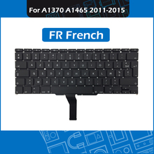10pcs/Lot Laptop FR French Keyboard for Macbook Air 11″ A1370 A1465 France Replacement Keyboard 2011-2015 Year